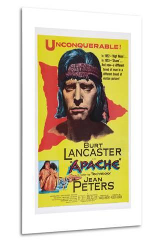 Apache, Burt Lancaster, 1954--Metal Print