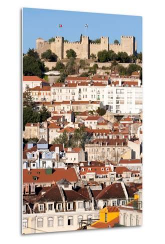 Castle De Sao Jorge, Lisbon Portugal-Susan Degginger-Metal Print