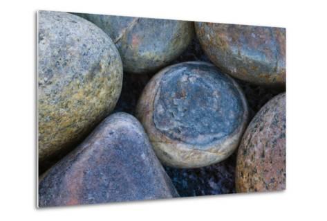 Africa, South Africa, Buckballbaai. Cluster of Rounded Rocks-Jaynes Gallery-Metal Print