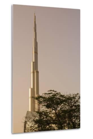 Burj Khalifa the Tallest Building in the World Downtown Dubai, Uae-Michael DeFreitas-Metal Print