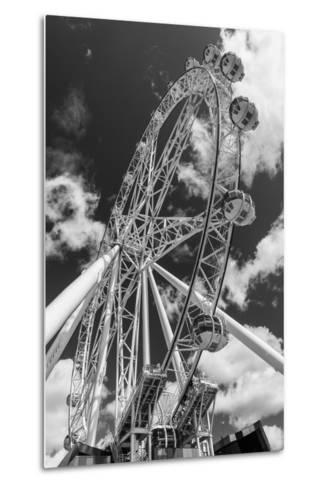 Australia, Melbourne, Docklands, Southern Star Observation Wheel-Walter Bibikow-Metal Print