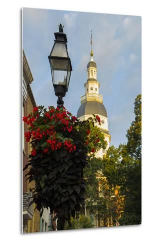 Historic Maryland State House in Annapolis, Maryland-Jerry Ginsberg-Metal Print