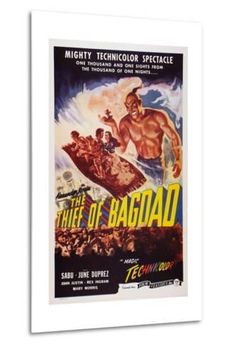 The Thief of Bagdad, Top from Left: Sabu, John Justin, June Duprez, Rex Ingram, 1940--Metal Print