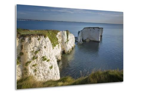 White Cliff and Harry Rock, Studland, Isle of Purbeck, Dorset, England-Brian Jannsen-Metal Print