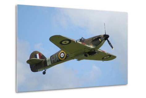 Hawker Hurricane World War Ii Fighter Plane of the Royal Air Force-Stocktrek Images-Metal Print