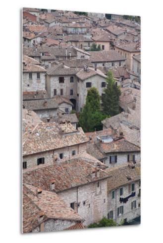 View of Gubbio, Umbria, Italy-Ian Trower-Metal Print