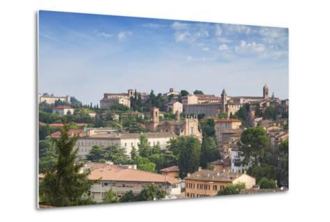 View of Perugia, Umbria, Italy-Ian Trower-Metal Print