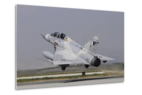 A Mirage 2000-5Dda from the Qatar Emiri Air Force Taking Off-Stocktrek Images-Metal Print