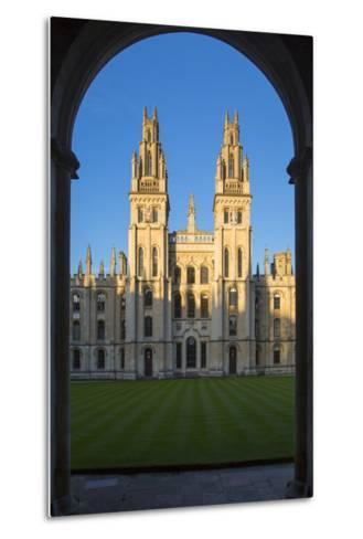 All Souls College, Oxford, Oxfordshire, England-Brian Jannsen-Metal Print