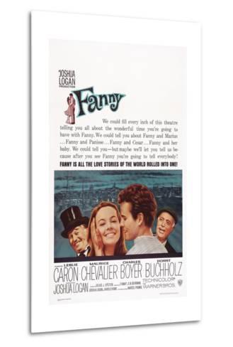Fanny, from Left: Maurice Chevalier, Leslie Caron, Horst Buchholz, Charles Boyer, 1961--Metal Print