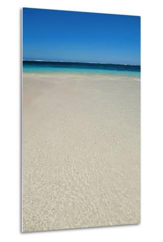 Tropical Lagoon Turquoise Bay-Frank Krahmer-Metal Print