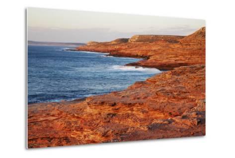 Cliff Landscape at Eagle Gorge-Frank Krahmer-Metal Print