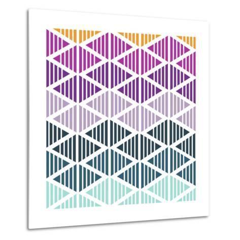 Tribal Arrows III-Nicole Ketchum-Metal Print