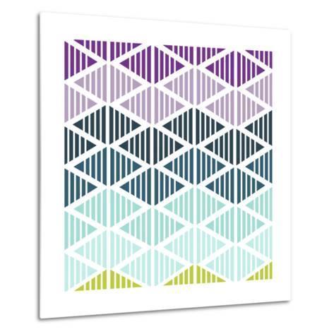 Tribal Arrows IV-Nicole Ketchum-Metal Print
