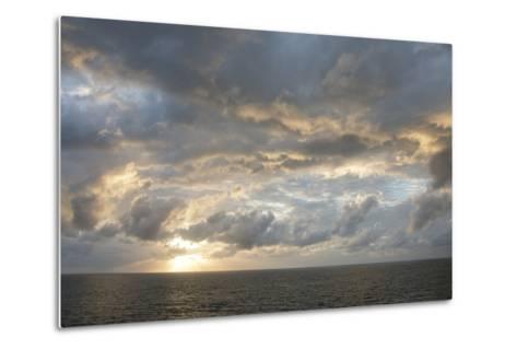 Australia, Queensland, Port Douglas. Sunrise over the Coral Sea-Cindy Miller Hopkins-Metal Print
