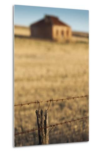 Australia, Burra, Former Copper Mining Town, Abandoned Homestead-Walter Bibikow-Metal Print