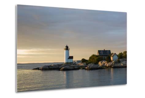 Massachusetts, Gloucester, Annisquam, Annisquam Lighthouse-Walter Bibikow-Metal Print
