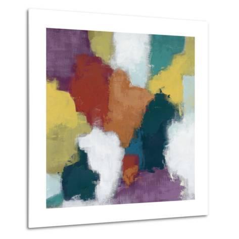 Color Cascade II-June Erica Vess-Metal Print