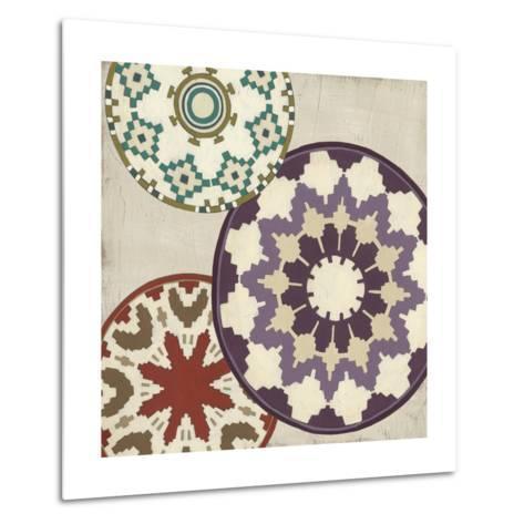 Basket Motif IV-June Erica Vess-Metal Print