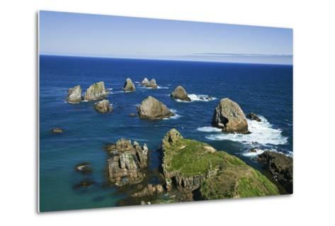 New Zealand, South Island. Seascape from Nugget Point-Jaynes Gallery-Metal Print