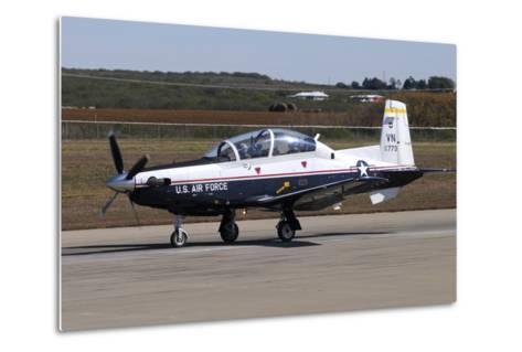 U.S. Air Force T-6A Texan Ii at Sheppard Air Force Base, Texas-Stocktrek Images-Metal Print
