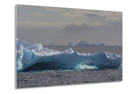 Antarctica. South of the Antarctic Circle. Iceberg-Inger Hogstrom-Metal Print