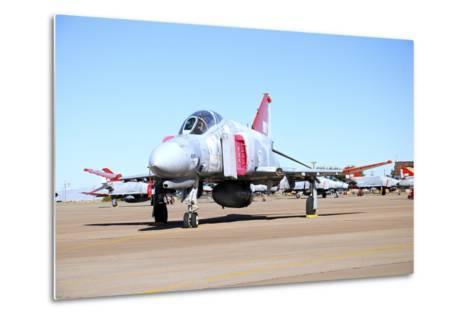 U.S. Air Force Qf-4 Phantom Ii on the Ramp at Holloman Air Force Base-Stocktrek Images-Metal Print