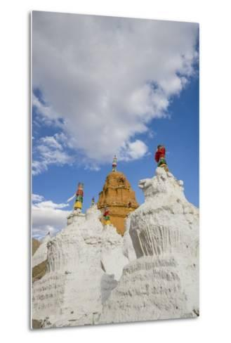 Beautiful Stupa in Downtown-Guido Cozzi-Metal Print