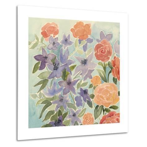 Flowers for Lilly I-Grace Popp-Metal Print