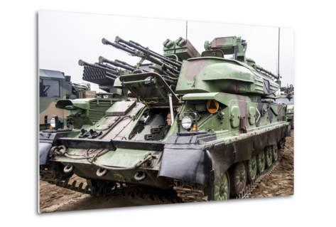 The Zsu-23-4 Shilka of the Polish Armed Forces-Stocktrek Images-Metal Print