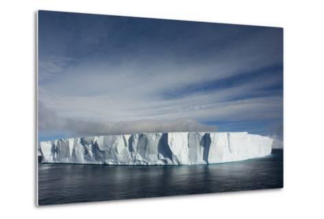 Antarctica. Antarctic Sound. Giant Tabular Iceberg-Inger Hogstrom-Metal Print