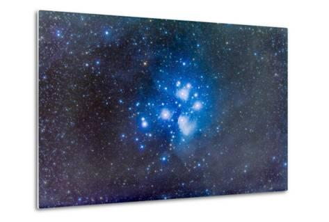 The Pleiades, also known as the Seven Sisters-Stocktrek Images-Metal Print