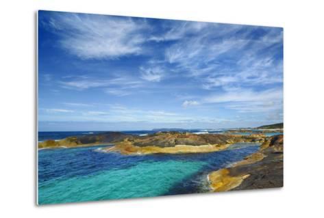 Ocean Coast near Greens Pool-Frank Krahmer-Metal Print