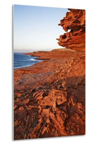 Cliff Landscape at Eagle Gorge-Frank Krahmer-Metal Print