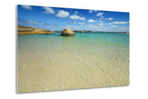 Ocean Coast at Greens Pool-Frank Krahmer-Metal Print