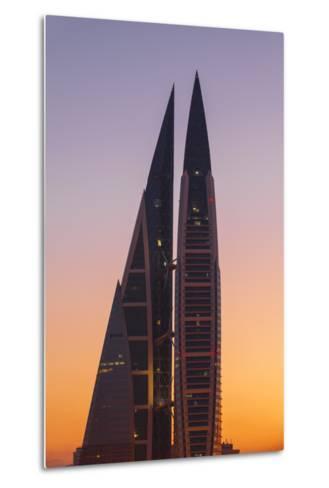 Bahrain, Manama, Bahrain World Trade Center-Jane Sweeney-Metal Print