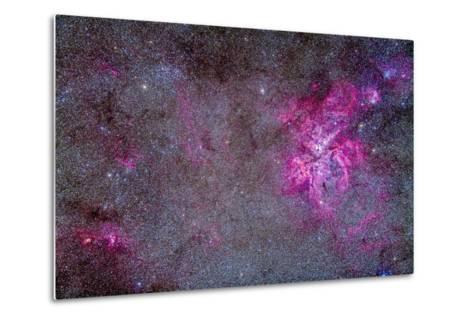 The Carina Nebula and Surrounding Clusters-Stocktrek Images-Metal Print