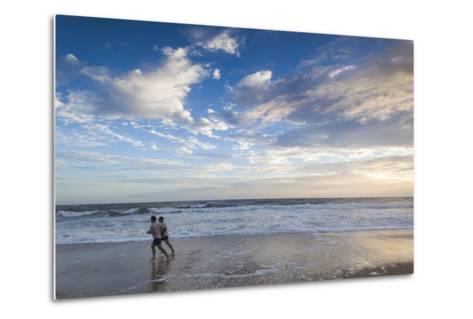 North Carolina, Outer Banks National Seashore, Kitty Hawk, Waterfront-Walter Bibikow-Metal Print