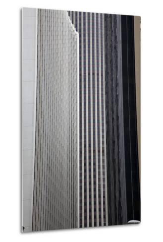 China, Hong Kong, Skyline Architecture of Hong Kong-Terry Eggers-Metal Print