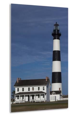 North Carolina, Outer Banks National Seashore, Bodie Island Lighthouse-Walter Bibikow-Metal Print