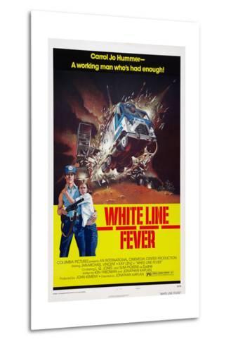 White Line Fever, Jan-Michael Vincent, Kay Lenz, 1975--Metal Print