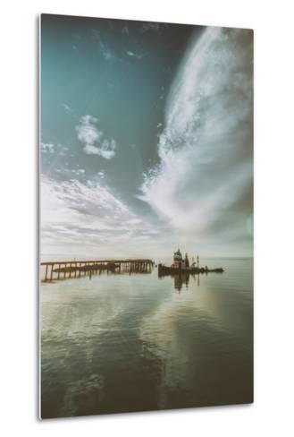 Polaris Cloudscape, Northern California--Metal Print