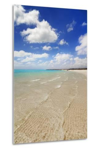 Tropical Lagoon Sandy Bay-Frank Krahmer-Metal Print