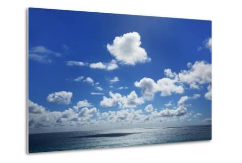 Cloud Impression at Ocean-Frank Krahmer-Metal Print