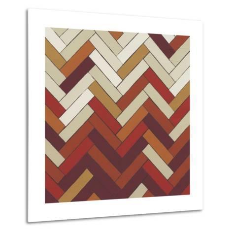 Parquet Prism III-June Erica Vess-Metal Print