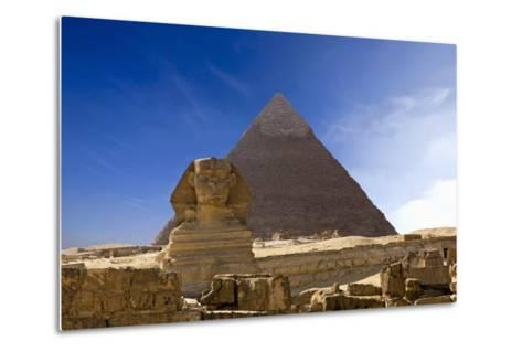 The Great Pyramids--Metal Print