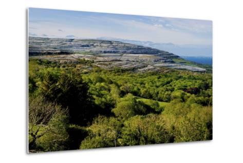 View from Corkscrew Hill Towards Ballyvaughan, Clare-Chris Hill-Metal Print