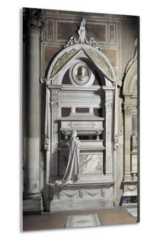 Monument to Gioacchino Rossini, by Cassioli--Metal Print