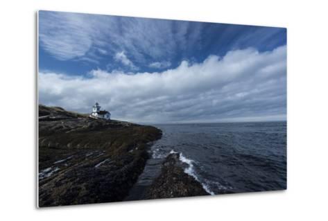 The Patos Island Lighthouse-Michael Melford-Metal Print