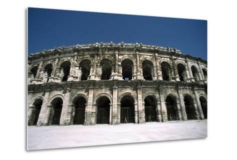 Amphitheatre Exterior-Design Pics Inc-Metal Print